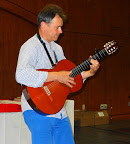 Mark Terwiliger led a focus group on Latin America and also shared his musical talent.